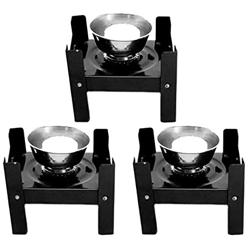 NUBELA Foldable Portable Camping Mini Stove -3 Pieces
