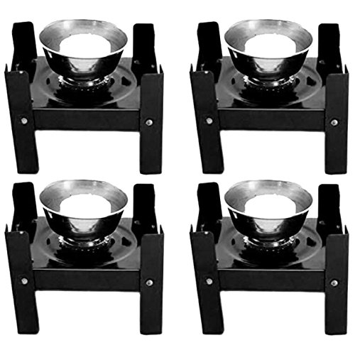 Nubela Foldable Portable Camping New Mini Stove 4 Pc